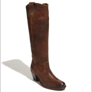 Frye Jackie Butto Boot Size 7